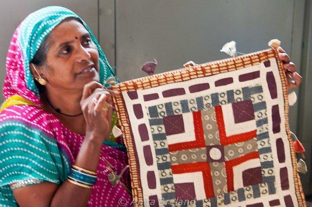 Prize-winning needlework