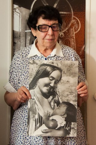 Dina Penson, with Uzbek Madonna