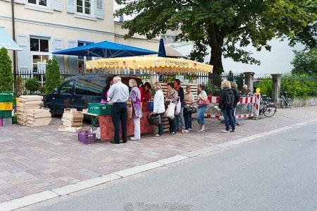 Asparagus mini-market