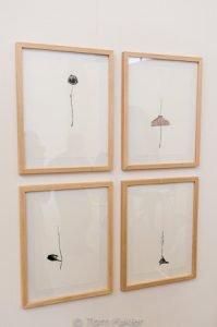 Blown-ink drawings by Luca Frei
