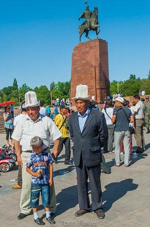 Celebrating 9 May in Bishkek