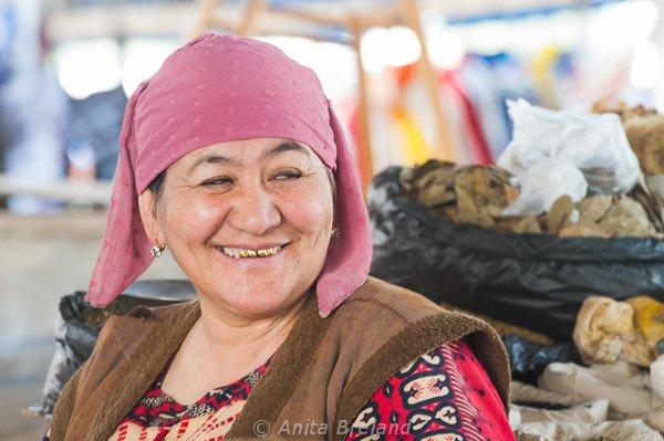 Tomato vendor, Tashkent