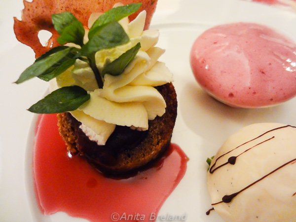 Dessert at Sauvage, Wilden Mann, Lucerne