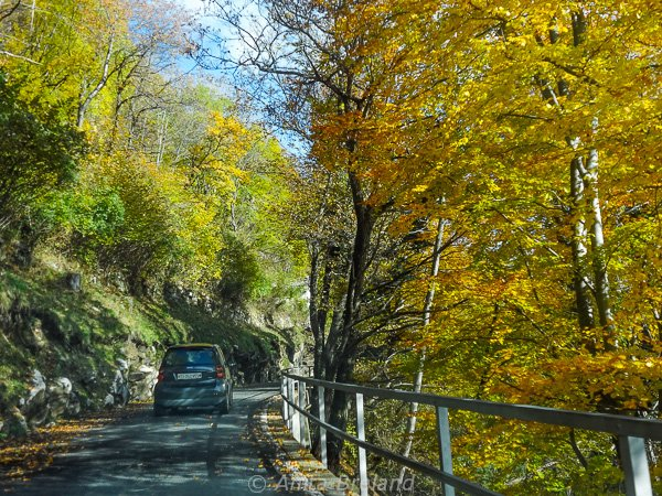 Autumn drive in the Valle di Muggio, Ticino