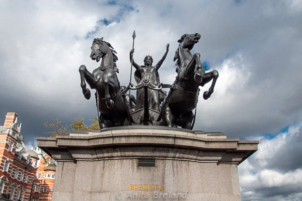 Boadicia, warrior queen of Britain