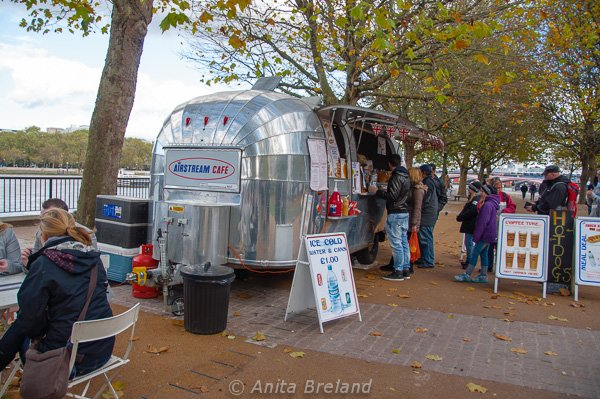 Airstream Cafe, London