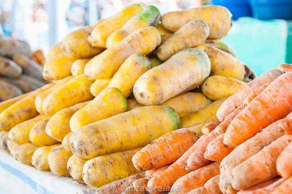 Carrots, Tashkent, Uzbekistan