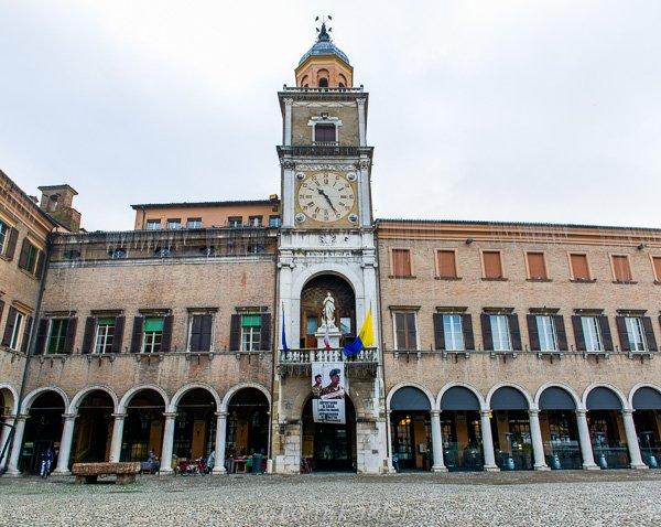 Piazza Grande and Palazzo Comunale, Modena, Italy