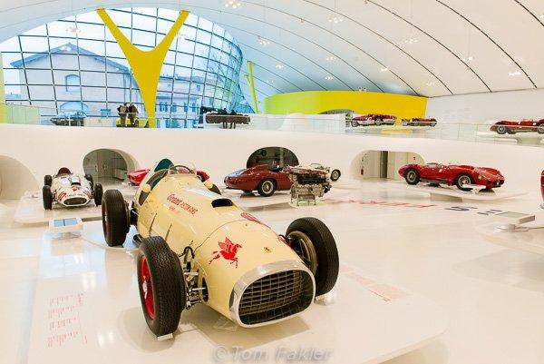 Museo Enzo Ferrari in Modena, Italy