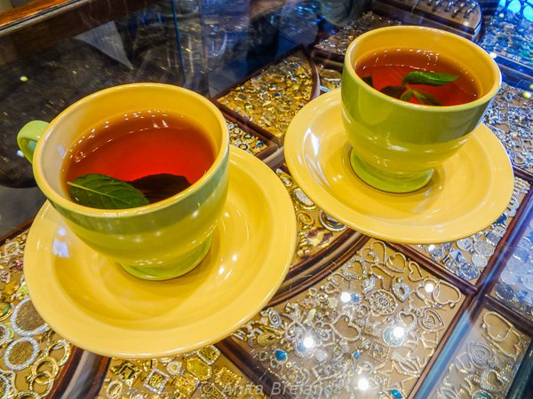 Mint tea, Amman, Jordan