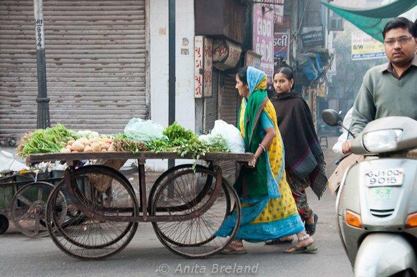 Street vendor, Ahmedabad