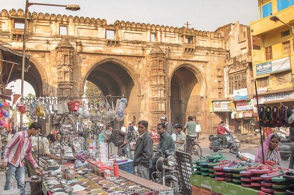 Street market, Ahmedabad